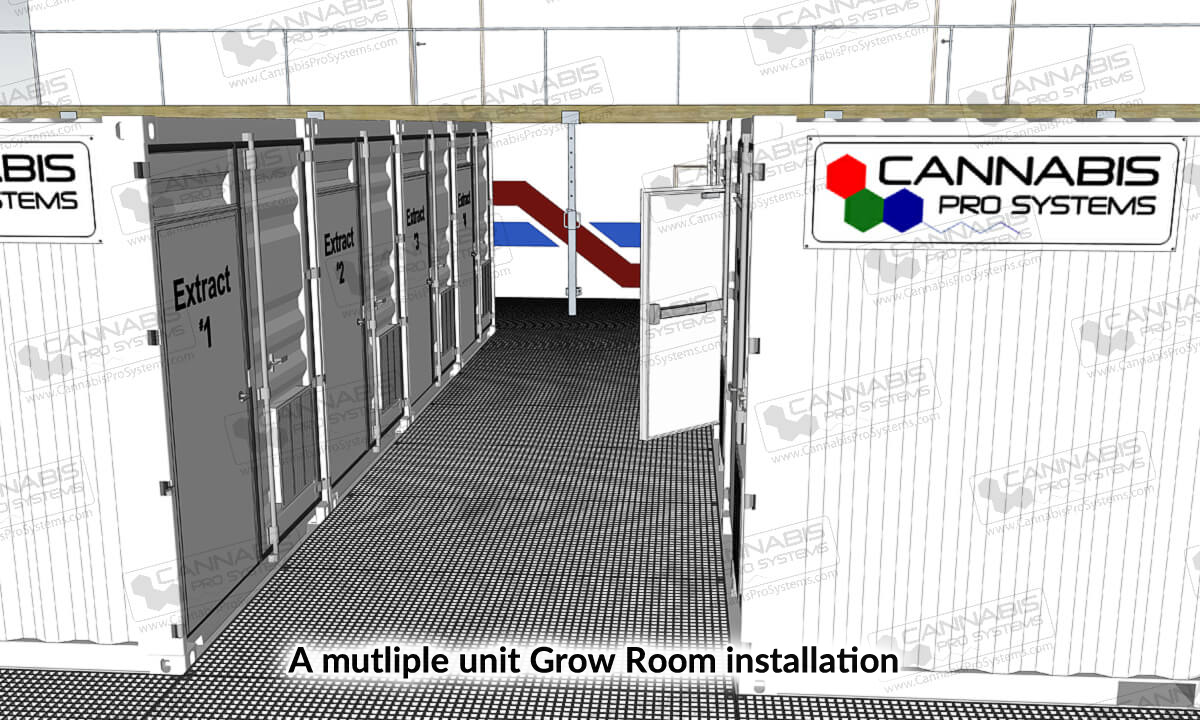 Grow Pods Multiple Installation